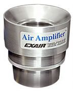 Stainless Steel Adjustable Air Amplifier with 77mm Bore