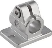 Tube Clamps Flanged In Stainless Steel K0479