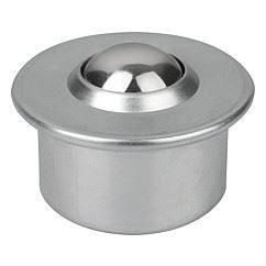 Ball rollers with steel housing K0760