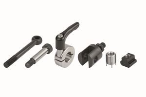 T Nuts Machine and Fixture Components
