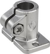 Tube Clamp Base In Stainless Steel K0477