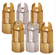 """Brass Round Compressed Air Nozzles Sizes 1/8"""" to 3/8"""""""